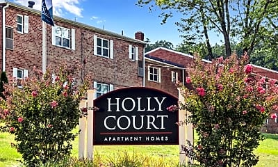 Community Signage, Holly Court Apartments, 1