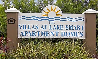 Community Signage, Villas at Lake Smart, 2