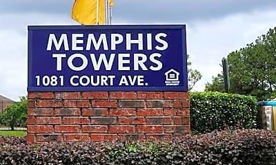 Building, Memphis Towers, 0