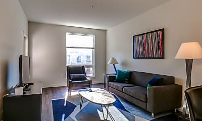 Living Room, The Residences at Mid-town Park, 1