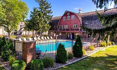 Pool, Hamlet Apartments, 0