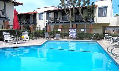 Pool, Tustin Villas, 2