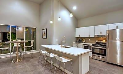 Kitchen, Midtown Flats, 1