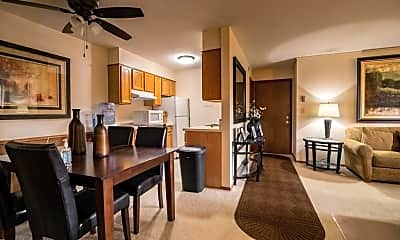 Dining Room, Sela St. Louis Park Apartments, 0