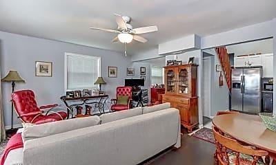 Living Room, 2040 S Ocean Shore Blvd, 1