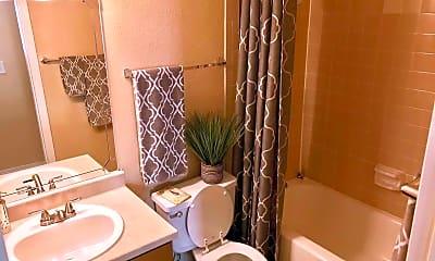 Bathroom, Santa Fe Place, 2