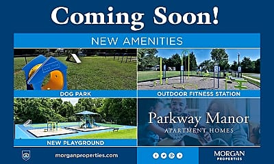 Community Signage, Parkway Manor Apartments, 2