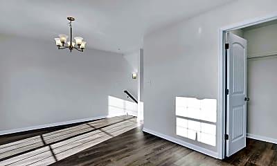 Living Room, Lexington Townhomes, 1