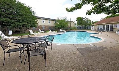Pool, Eagle Crest Apartments, 1