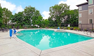 Pool, Columbia View Apartments, 0