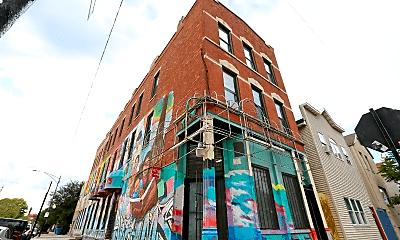 Building, 1942 S Carpenter St, 1