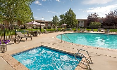 Pool, Meadow Creek Apartments, 0