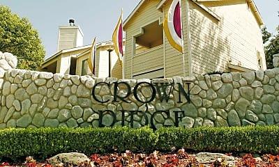 Community Signage, Crown Ridge Apartments, 0