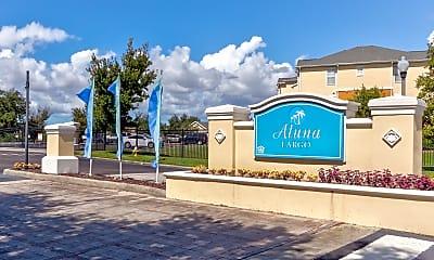 Community Signage, Aluna Largo, 2