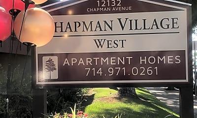Chapman Village West Apartments, 1