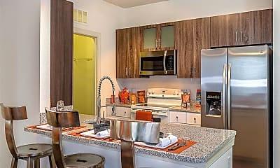Kitchen, EOS Apartments, 1