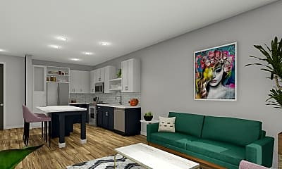 Living Room, Flats on Front, 2