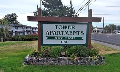 Tower Apartments, 1