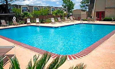 Pool, Le Chateau Apartments, 0