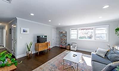 Living Room, 41 Park Terrace, 1