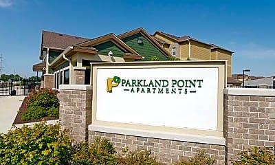 Community Signage, Parkland Point Apartments, 2
