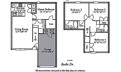 Bathroom, 1531 Bodie Dr, 2