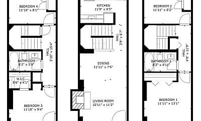 Bedroom, 1085 Paper Mill Ct, 2