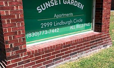 Sunset Garden Apartments, 1