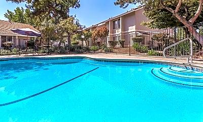 Pool, Bear Creek Park Apartments, 0