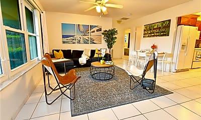 Living Room, 1745 NE 52nd St, 2