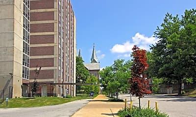 Building, Chapel View Apartments, 0