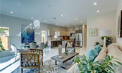Living Room, 694 NE 43rd St 694, 1