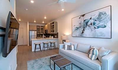 Living Room, 1515 Flats, 1