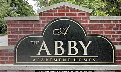 Community Signage, The Abby, 2