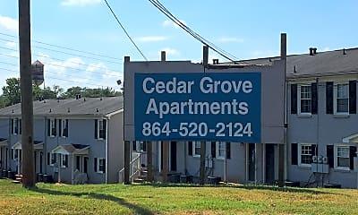 Cedar Grove Apartments, 1