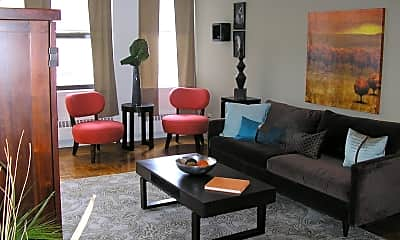 Living Room, Apartments At 1220, 1