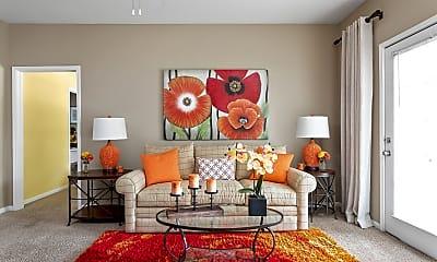 Living Room, Bridge Pointe, 1