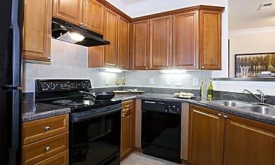 Kitchen, The Marquis on Berkeley, 1