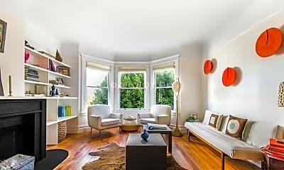 Living Room, 1450 Sanchez St, 1