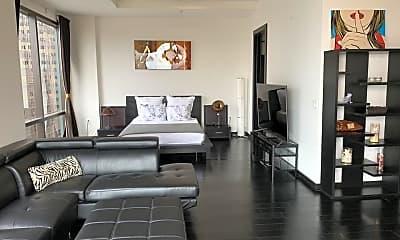 Living Room, 655 S Hope St, 1