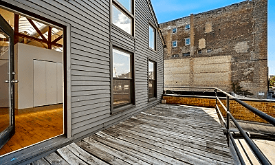 Patio / Deck, 1910 S Halsted St, 2