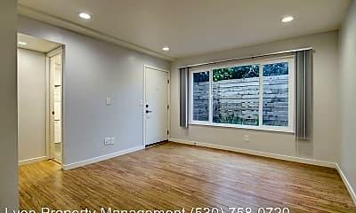 Living Room, 2619 T St, 2