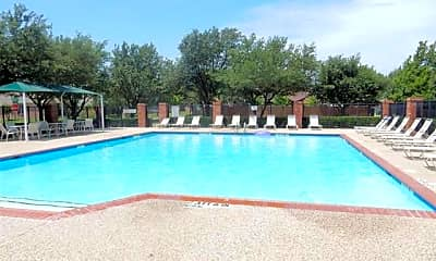 Pool, 5913 Dark Forest Dr, 1