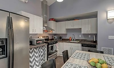 Kitchen, Copper Beech Townhomes, 2