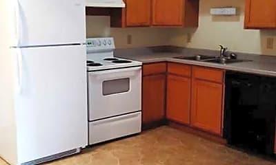 Kitchen, Evergreen Estates, 1