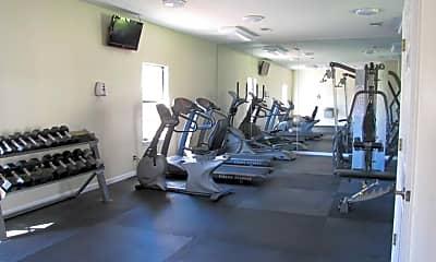 Fitness Weight Room, Briarwood Condominiums, 2
