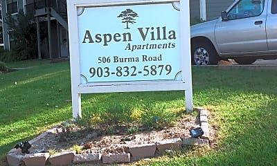 Aspen Villa Apartments, 1