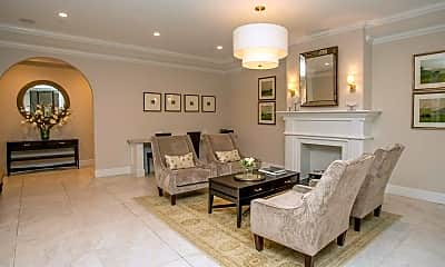 Living Room, The Tedwyn Apartments, 1