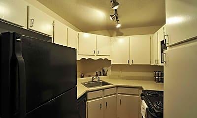 Kitchen, The Oaks, 1