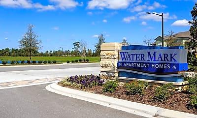Community Signage, Lake Nona Water Mark, 2
